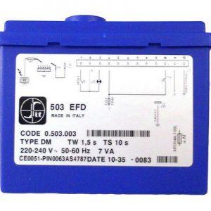 0503003 SCHEDA EFD X TANDEM: 2EL, TW1,5